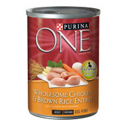 Purina ONE Wholesome Chicken & Brown Rice Entre Do