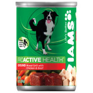 Iams Hearty Mixed Grill with Chicken & Beef