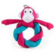 ToyShoppe Ballistic Pretzel Monkey Dog Toy