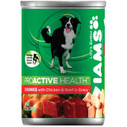 Iams Chunks Premium Canned Dog Food