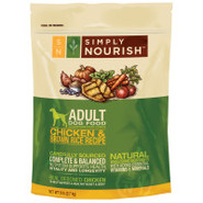 Simply Nourish Chicken &amp; Brown Rice Adult Dog Food