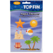 Top Fin Aqua Themes Background Decor Clings