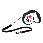 Flexi I Love NY Retractable Dog Leash