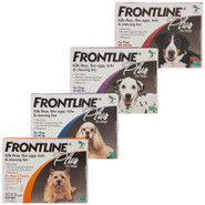 FRONTLINE Plus for Dogs - 3pk