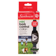 Sunbeam Pets Mini Bark Control Collar