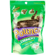 Catnip Flavor Pounce Crunchy Cat Treats with Tarta