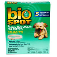 Bio Spot Flea & Tick Collar for Dogs and Puppies