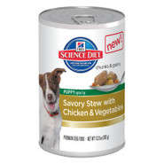 Hill&#39;s Science Diet Savory Stew with Chicken &amp; Veg