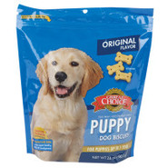 Grreat Choice&reg Puppy Biscuits Dog Treats