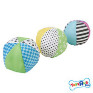 Toys R Us Pets Patterned Canvas Balls