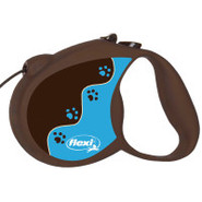 Flexi Muddy Paws Retractable Dog Leash