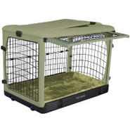 Pet Gear   The Other Door   Deluxe Steel Crate wit