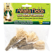 Critter WARE Alfalfa Fields Mini Alfa-Carrots Chew