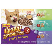 Friskies Poultry Pouches Variety Pack