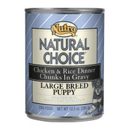 Nutro Natural Choice Large Breed Puppy Canned Dog 