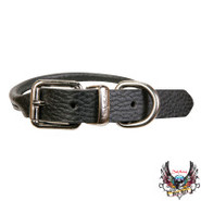 Bret Michaels Pets Rock Rolled Distressed Leather