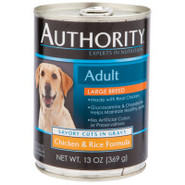 Authority Adult Large Breed Canned Dog Food