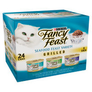 Fancy Feast Grilled Seafood Variety 24-Pack