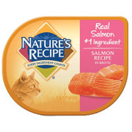 NATURE'S RECIPE Natural Salmon Cat Food