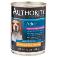 Authority Adult Weight Management Canned Dog Food