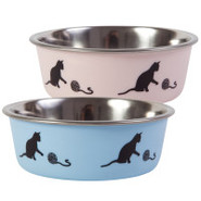 Whisker City Decorative Steel Bowl