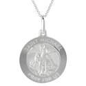 Tressa Silver Italian Holy Saint Michael &amp;apos;Pra