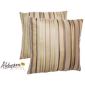 Aroma 18-inch Cream Decorative Pillows (Set of 2)