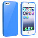 Blue Jelly TPU Rubber Skin Case for Apple?? iPhone