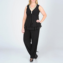 Women's Plus 2-piece Pant Suit