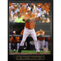 Baltimore Orioles Matt Wieters Photo Plaque (9 x 1