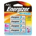 Energizer EA91BP-4 Advanced Lithium General Purpos