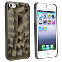 Clear Smoke Diamond Cut Snap-on Case for Apple?? i