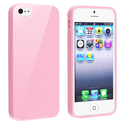 Light Pink Jelly TPU Rubber Skin Case for Apple??