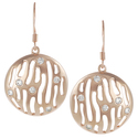 Tressa Collection Rose Goldplated Silver Cubic Zir