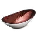 Towle Hammersmith Ruby Red Oval Serving Bowl