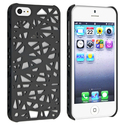 Black Bird Nest Rear Snap-on Case for Apple iPhone