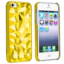 Clear Yellow Diamond Cut Snap-on Case for Apple?? 