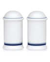 Dinnerware, Christianshavn Blue Salt and Pepper Sh