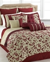 Oyuki 12 Piece King Comforter Set Bedding