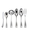 Flatware 18/10, Curva 6 Piece Hostess Set