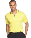 Golf Shirt, Argyle Texture Polo Shirt