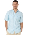 Big &amp; Tall Shirt, Short Sleeve Pocket Stripe Shirt