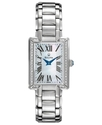 Watch, Women&#39;s Diamond Accent Stainless Steel Brac