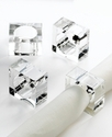 Napkin Rings, Set of 4 Pure