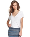 RACHEL Rachel Roy Top, Short-Sleeve V-Neck Tee