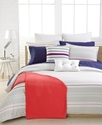 Lacoste Bedding, Fermat Jersey Striped 18   Square