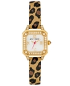 Watch, Women's Leopard Print Leather Strap BJ00043