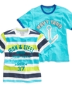 Kids T-Shirt, Little Boys Graphic Slub Tee