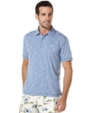 Shirts, Marled Short Sleeve Polo Shirt