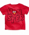 Seseame Street Kids T-Shirt, Little Boys Monster T